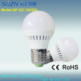 PP Plastic 3W LED Bulb Light with CE RoHS Certificate
