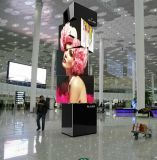 Advertising Full Color Outdoor Creative 3 Face Rolling LED Display