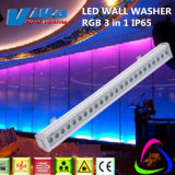 IP65 Outdoor DMX LED Bar Light RGB 3in1 24X3w LED Wall Washer