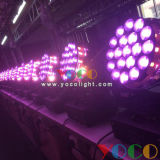 19X12W RGBW 4in1 LED Moving Head Disco Light Wash Zoom