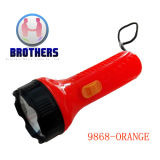 Plastic Button Cell LED Flashlight (9868)