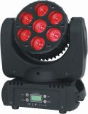 7 PCS*12W RGBW 4in1 LED Moving Head Beam Light for Stage Disco with Ce RoHS