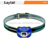 Rayfall Manufacturer Hot Sale CREE LED Headlamp, Waterproof LED Headlight, Plastic LED Head Lamp, CE&RoHS Certification (3*AAA)