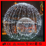 Outdoor Garden Decoration White Big Artificial LED Ball Light