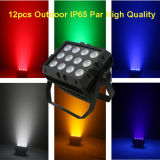 Outdoor Architectural LED PAR Zoom Stage Light / RGBW 4in1 IP65 Waterproof 12X10W LED PAR Light
