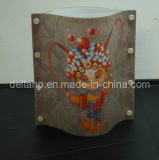 Chinese Style Beijing Opera Design Lamps for Decorative (c5003053)