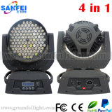 108X3w 4in1 RGBW LED Moving Head Wash Zoom Lights