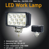 33W LED Flood Light for Offroad, TV, Caravans LED Work Lamp with Waterproof
