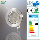 6400k 3W LED Ceiling Light with CE RoHS