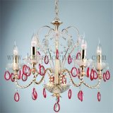 Chandelier Crystal Iron Light