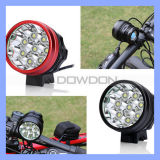Waterproof 8 CREE Xm L T6 12000 Lm 160 Degreed Wide Beam Bike Headlamp