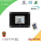 High Performance Outdoor Lighting 10W LED RGB Flood Light