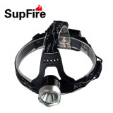 900 Lumens Supfire Hl31 CREE T6 Headlight with CE