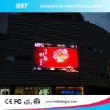 P10mm Outdoor LED Advertising Display Boad with Curve Design