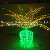LED Chirstmas String Tree Light for Street Garden Park Outdoor Decoration with CE RoHS
