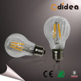 6W E27 2200k LED Filament Light Bulb