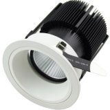 Full Spray White Round 25W COB LED Wall Washer Downlight