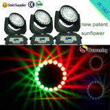 New Innovation RGBW Sunflower Effect Disco Lights for DJ