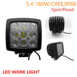 90W Squar LED LED Work Light for Jeep Offroad 4X4