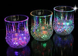 Plastic Flashing LED Cup with Light Lamp for Christmas Celebrate/LED Cup
