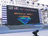 P18 Full Color LED Display Outdoor with SMD Lamps