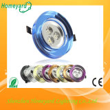 All Kinds of Color 3W LED Ceiling Light