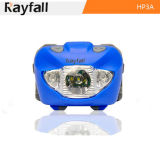 Rayfall LED Headlamp-CREE R3 LED 3AAA W/ Red, White Multi Color Beam