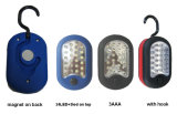 LED Rubber Working Emergency Flashlight
