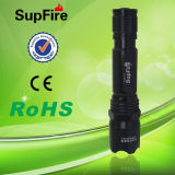 Supfire C2 Rechargeable LED Flashlight with CREE Q5