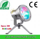 IP68 27W LED Underwater Pool Light with RGB Color (JP95594)