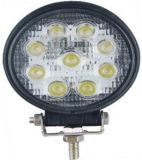 Round Bridgelux 27W LED Work Lights (GY-009Z03A)