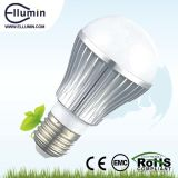E27 5W Aluminium LED Bulb Lights/Metal Material