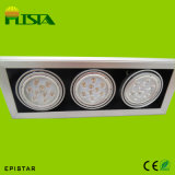High Quality 3*7W LED Ceiling Down Light with Grille (ST-DD-7W)