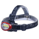 Portable Camping Outdoor Light 3watt COB Headlamp (MK-3621)