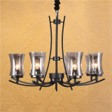 New Design Chandelier Lamp with Glass Shade (SL2246-8)