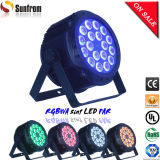 Durable Low Noise LED PAR 64 Stage Light