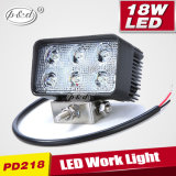 Car Headlight Square 4X4 18W LED Work Light LED Driving Lights (PD218)