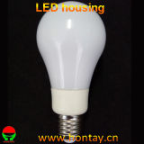 LED Bulb Lamp Plastic Housing with Full Angle Diffuser
