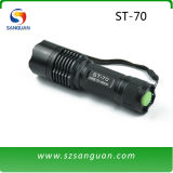 Aluminum CREE T6 LED Flashlight 1000lumens (ST-70)