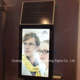 Solar Power Double-Sided Advertising LED Light Box