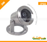 LED Underwater Light/Swimming Pool/Fountain Light (GP-UL-3W1)