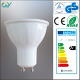 6W 3000k GU10 COB LED Spotlight