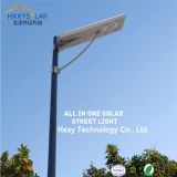 5 Years Warranty 6-100W Outdoor All in One Integrated Solar LED Street Light with Camera