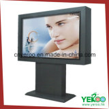 Ground Standing Backlit Advertising Double Sided Street Mupi Light Box