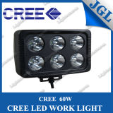 60W CREE LED Work Lights with Black Housing