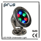 6W LED Underwater for Pool Light