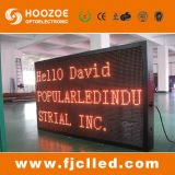 Russia High Quality P10 Outdoor Red Color LED Display