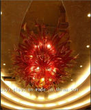 Red Decoration Glass Chandelier for Hotel