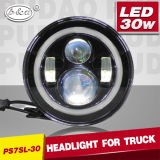 LED Car Accessories 7inch 30W CREE Hi/Low Beam LED Headlamp (PD7SL-30)
