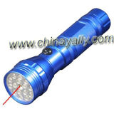 LED Flashlight With Laser Pointer/LED Torch (YF-7521)